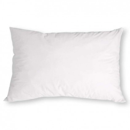 Alèse taie d'oreiller 2 en 1 DÉLICATEX Blanc