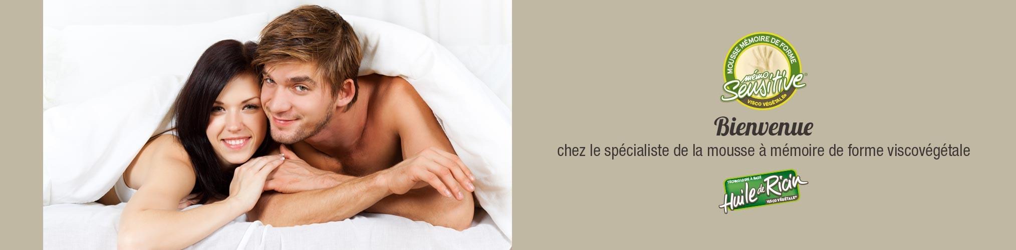 """Biotex le spécialiste de la mousse à mémoire de forme """"Visco"""" végétale : matelas, oreillers, accessoires de confort"""
